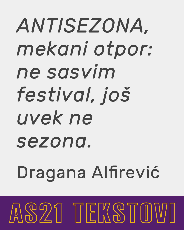 TEKST DRAGANE ALFIREVIĆ ZA WHITE BOX SESSIONS